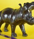 Nijlpaard van leer