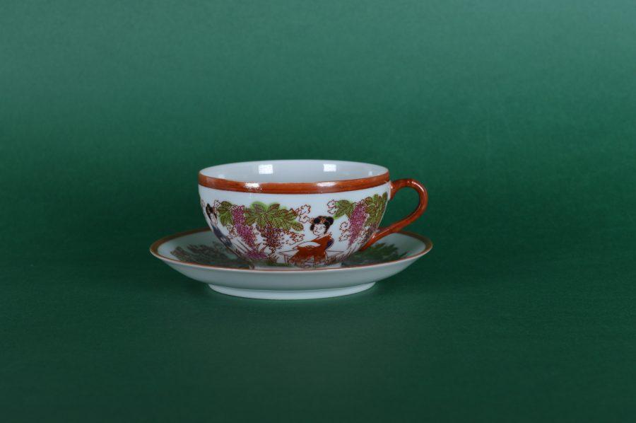 Chinees Porselein Merktekens Japans Porselein.Japans Eierschaal Porselein Kop En Schotel Set Van Twee Bodour