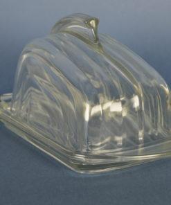 Kaasstolp kleurloos glas