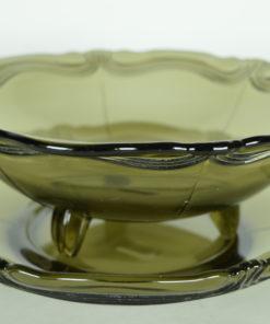 Fruittest accolade motief donker grijs-bruin glas