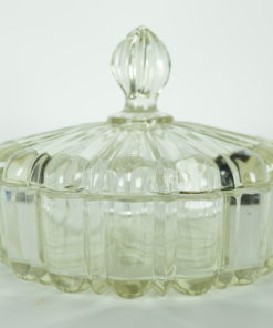 Bonbonniere glas plissee