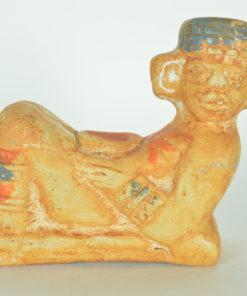 Chac mool Azteken aardewerk