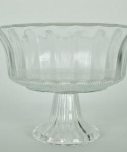 Tiramisu Trifleschaal glas op voet